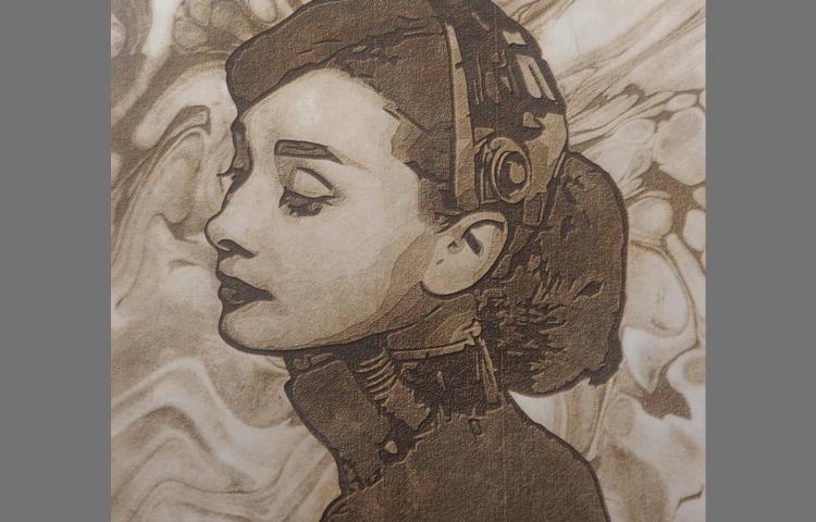Ortur Laser Master 2 Audrey Hepburn