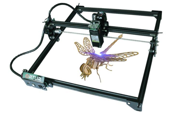 Ortur Laser Master 2 cutting