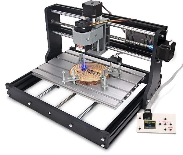 MYSWEETY 2 in 1 5500mW CNC 3018 Pro Engraver Machine